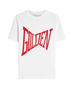 Golden Goose   Distressed Print T-Shirt Gr. M