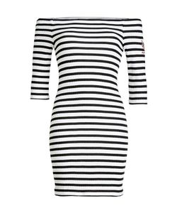 Zoe Karssen | Striped Dress With Bardot Neckline Gr. S