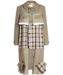 Maison Margiela | Printed Virgin Wool Coat Gr. It 40