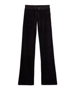 Juicy Couture   Straight Leg Velour Track Pants Gr. Xs