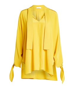 Nobi Talai | Silk Blouse With Cut-Out Details Gr. De 40