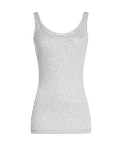 Vince | Ribbed Tank Top With Cotton Gr. M