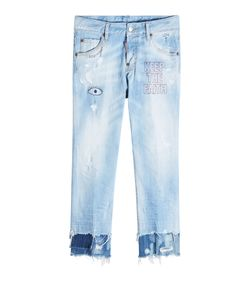 DSquared² | Distressed Cropped Jeans Gr. It 40