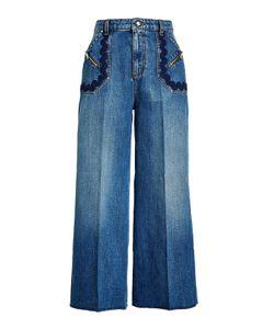 Sonia Rykiel   Wide Leg Jeans Gr. Fr 40