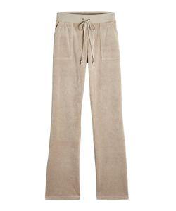 Juicy Couture   Straight Leg Velour Track Pants Gr. L