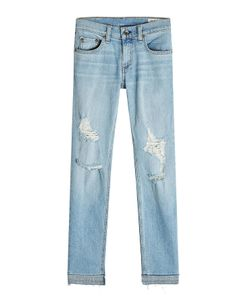 Rag & Bone | Dre Capri Distressed Jeans Gr. 31