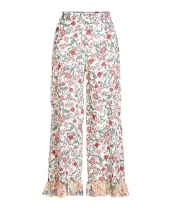 See by Chloé | Printed Pants With Silk Gr. Fr 42