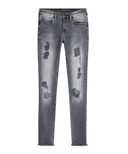 True Religion | Halle Distressed Skinny Jeans Gr. 29