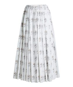 Emilia Wickstead | Printed Cotton Skirt Gr. Uk 10