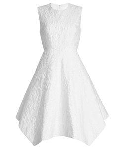 Delpozo | Embroidered Dress In Linen Gr. Fr 40