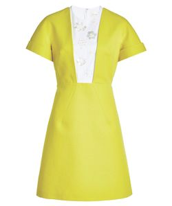 Delpozo | Cotton Dress With Embellishments Gr. Fr 40