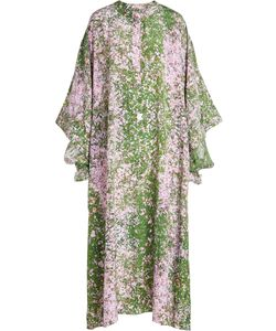 Natasha Zinko   Printed Silk Dress Gr. Fr 36