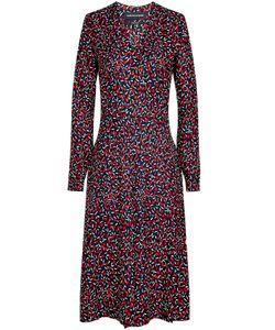 Vanessa Seward | Printed Silk Midi Dress Gr. Fr 36
