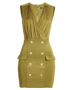Balmain | Mini Dress With Embossed Buttons Gr. Fr 36