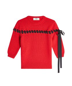 Fendi | Cashmere Pullover With Ribbon Detail Gr. It 44