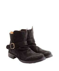 Fiorentini & Baker | Suede Buckle Boots Gr. 40