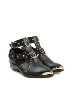 Balmain | Leather Ankle Boots Gr. Fr 36