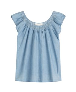 The Great | The Flutter Sleeve Top Gr. 0