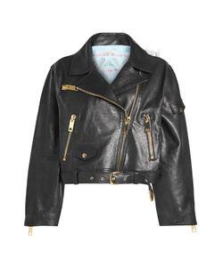 Natasha Zinko   Cropped Leather Jacket Gr. Fr 38