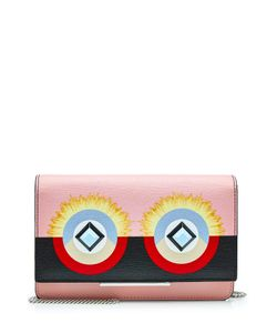 Fendi | Printed Leather Shoulder Bag Gr. One Size