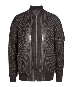 Rick Owens   Printed Jacket With Cotton And Linen Gr. Eu 48