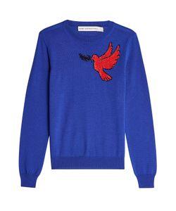 Mary Katrantzou | Embellished Virgin Wool Pullover Gr. S