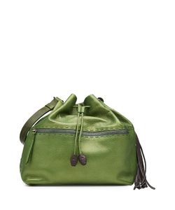 Henry Beguelin | Leather Drawstring Tote Gr. One Size