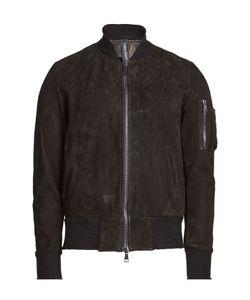 Giorgio Brato | Suede Bomber Jacket Gr. Eu 50