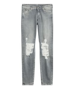 Seven for all Mankind | Distressed Skinny Jeans Gr. 30