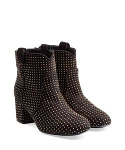 Laurence Dacade | Studded Suede Ankle Boots Gr. 355