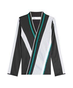 Victoria, Victoria Beckham | Asymmetric Stripe Blouse Gr. Uk 4