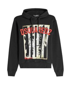 Dsquared2 | Printed Cotton Hoody Gr. M