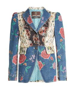 Roberto Cavalli   Patchwork Denim Jacket Gr. It 44