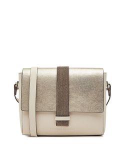 Brunello Cucinelli   Leather Shoulder Bag Gr. One Size