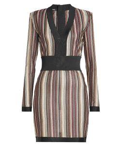 Balmain   Mini Dress With Thread Gr. Fr 38