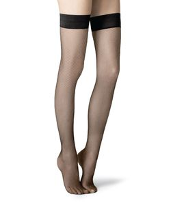 Fogal | Netlace Stay-Up Stockings Gr. S