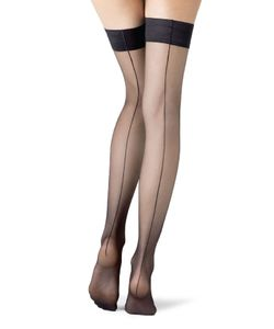 Fogal | Catwalk Couture Stay-Up Stockings Gr. S