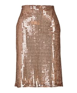 Marios Schwab | Sequined Pencil Skirt Gr. Uk 6