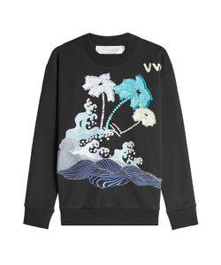 Victoria, Victoria Beckham | Embroide Cotton Sweatshirt Gr. S
