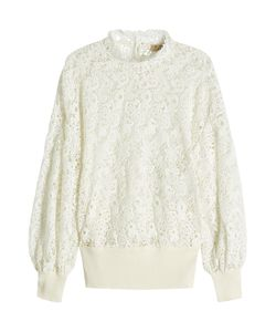 Burberry | Lace Pullover With Cotton Gr. S