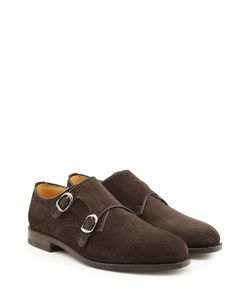 Ludwig Reiter | Suede Monk Shoes Gr. Uk 7.5