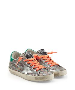 Golden Goose   Glitter Sneakers With Leather Gr. Eu 39