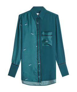 Victoria, Victoria Beckham | Printed Silk Shirt With Gr. Uk 6