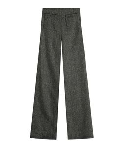Isa Arfen | Wide Leg Wool Pants Gr. Uk 8
