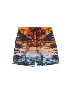 Vilebrequin | Moorea Printed Swim Trunks Gr. Xxl