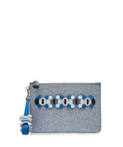Anya Hindmarch   Leather Pouch Gr. One Size