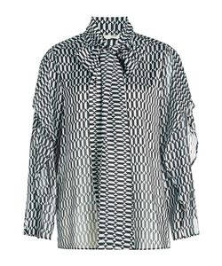 Fendi | Printed Blouse With Silk Gr. It 44