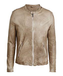 Giorgio Brato | Collarless Leather Jacket Gr. Eu 52