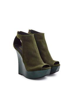 Balmain | Suede Wedge Sandals Gr. Fr 38