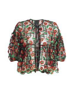 Anna Sui | Embroidered Blouse Gr. S
